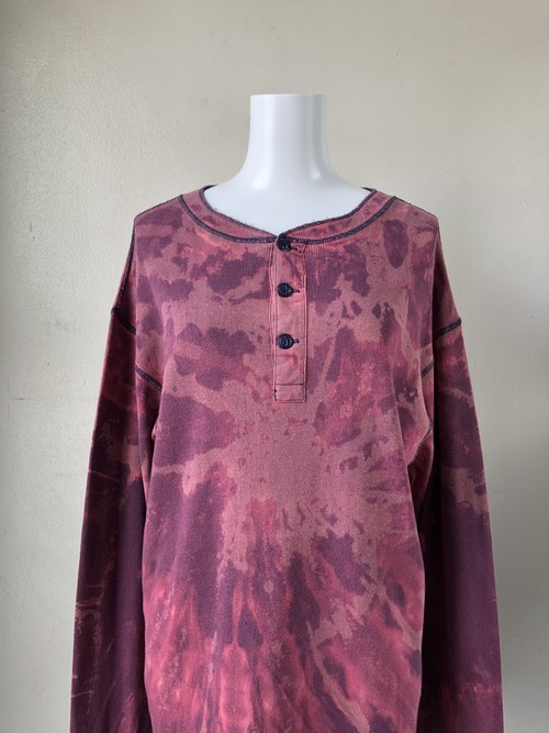 USED / POLO RALPH LAUREN tiedye thermal L/S