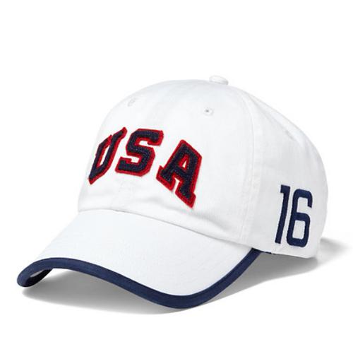 【New】Polo Ralph Lauren Rio Olympic Team USA Cap White