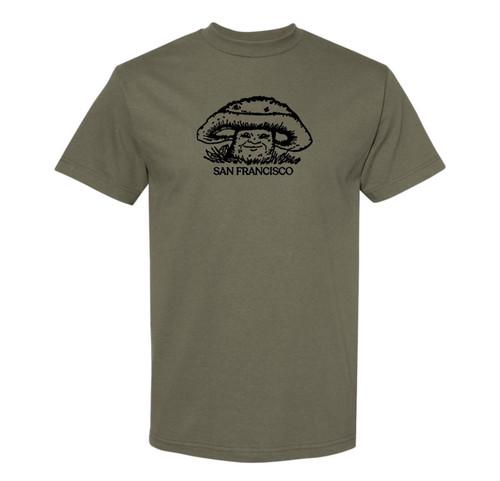Western World / Mushroom Man Tee / Army