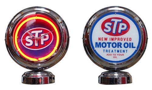 GASLAMP NEON CLOCK (STP)