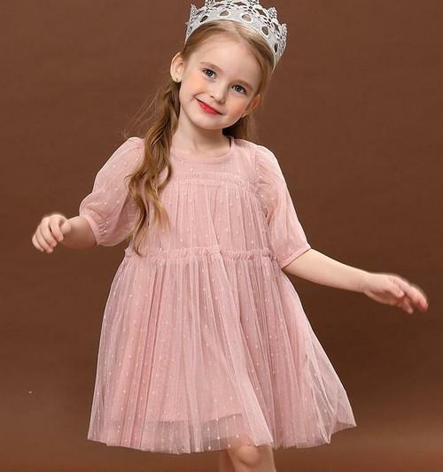 8419子供ドレス キッズドレス ベビードレス ジュニアドレス 女の子ドレス フォーマルドレス パーティードレス  女の子ワンピース 身長75cm-130cm