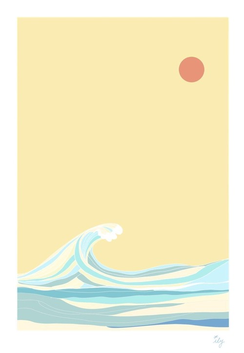 [ily drawing]Japanese Waves