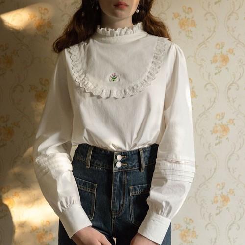 〔Designer+ 〕tulips blouse