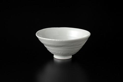 白磁刷毛目茶碗1