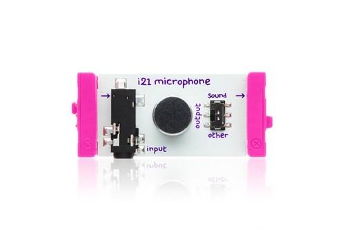 littleBits I21 MICROPHONE リトルビッツ マイクロフォン【国内正規品】