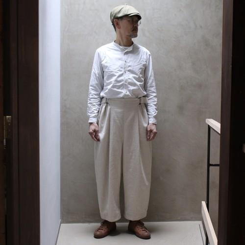 Suie(スィ)Volendam Workers Pants 生成り  【受注オーダー】
