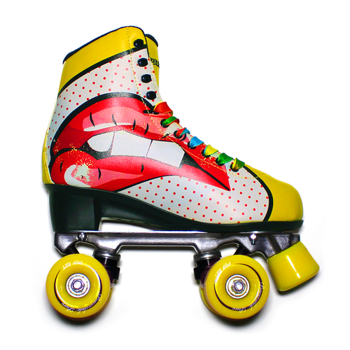 "Powerslide "" Pop Art Blondi "" Quad Rollerskate"