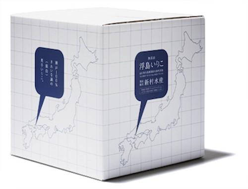 浮島いりこ(煮干し):[中羽]約6cm〜8cm:大箱/1600g(400g*4袋)