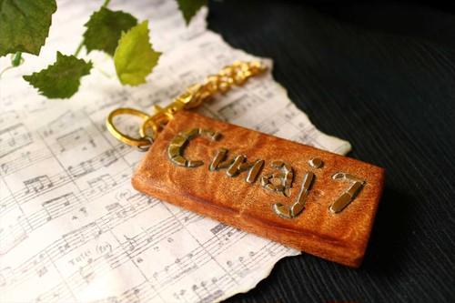 音楽のバッグチャーム#2【Cmaj7】