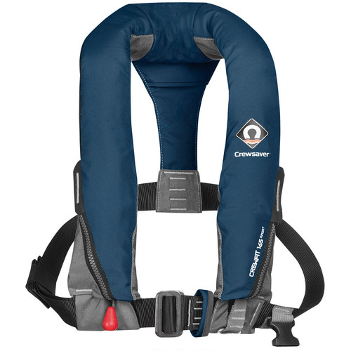 Crewsaver Crewfit 165N Sport Lifejacket(クルーフィット 165N スポーツ) [Automatic w.Harness / Navy]