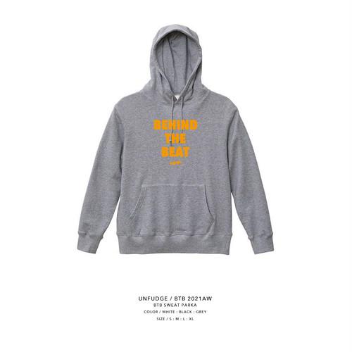unfudge SWEAT PARKA / BTB / GREY(予約商品)