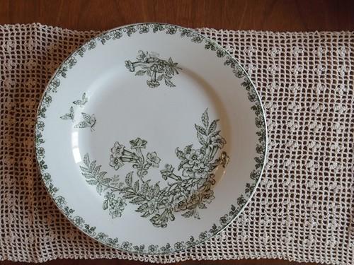 フランスアンティークプレート 皿 C