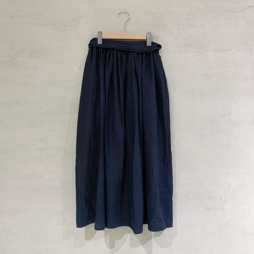 【COSMIC WONDER】Beautiful light linen gathered skirt/11CW16044