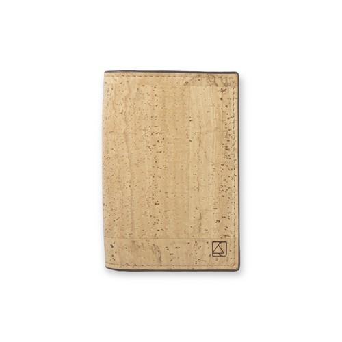 VEGAN BUSINESS CARD HOLDER  NATURAL / 名刺入れ ナチュラルカラー コルク製
