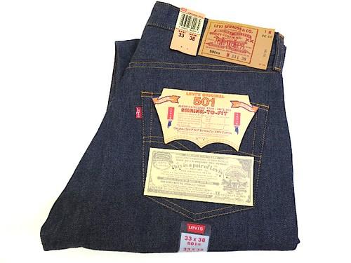 Dead Stock LEVI'S 501 ( W33 L38 )