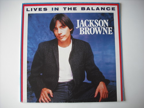 "【12""】JACKSON BROWNE / LIVES IN THE BALANCE"