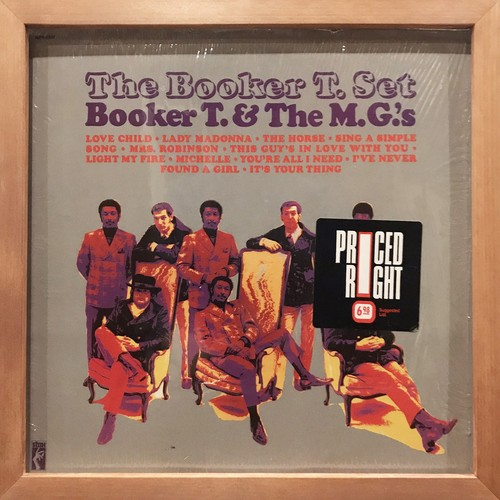 Booker T & The MG's ‎– The Booker T. Set (LP)