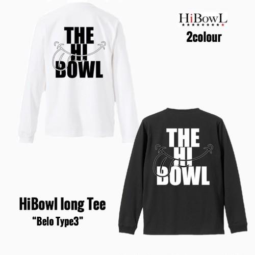 "HiBOWL『ハイボール』 HiBowL【ハイボール】HiBowL Long Tee ""Belo Type3"""