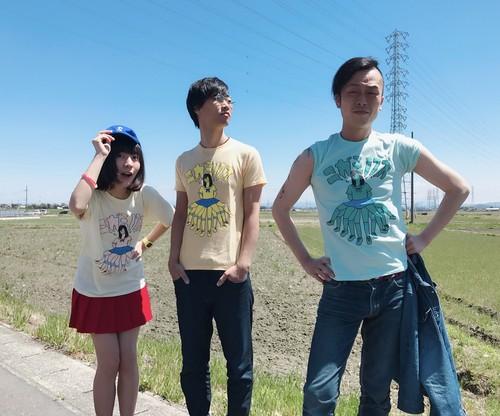 ニガミちゃんTシャツ【オレンジ】