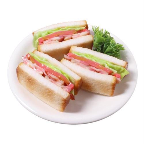 [7012]食品サンプル屋さんのミニグルメ(BLTサンド)【メール便・ラッピング不可】