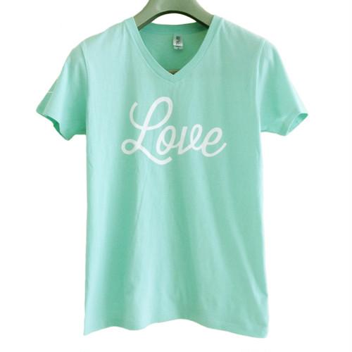 Tシャツ Love(フロストスカイ)