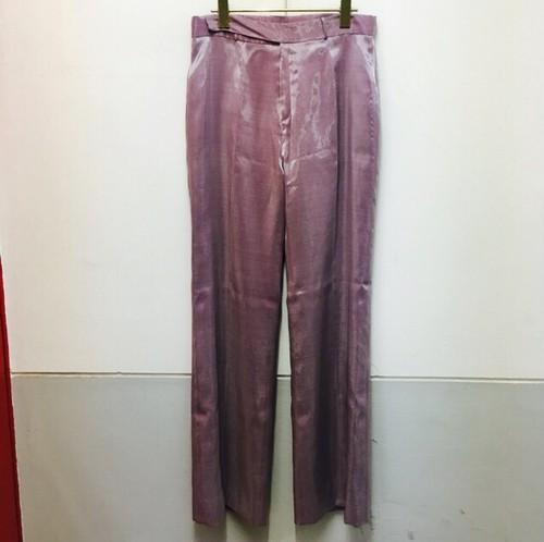 lilac gloss pants