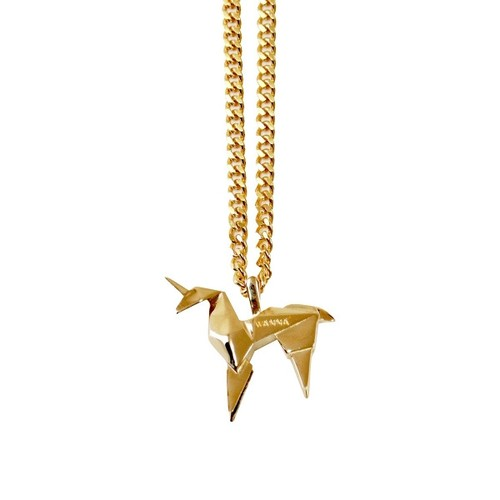 WANNA Cue Necklace GOLD