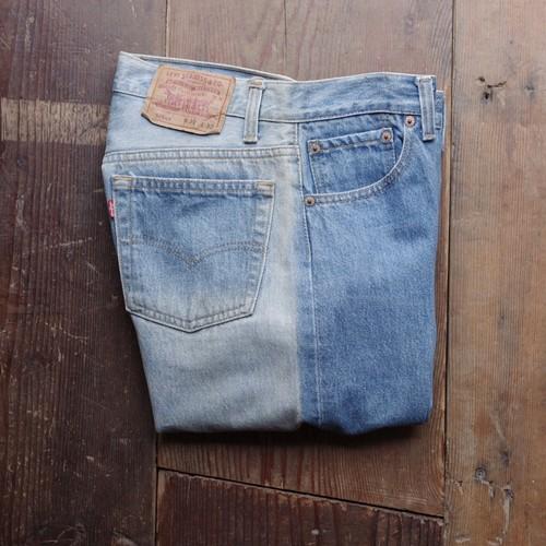 US Made 90's Levi's 501 Denim Pants / リーバイス 501 / ツートーン