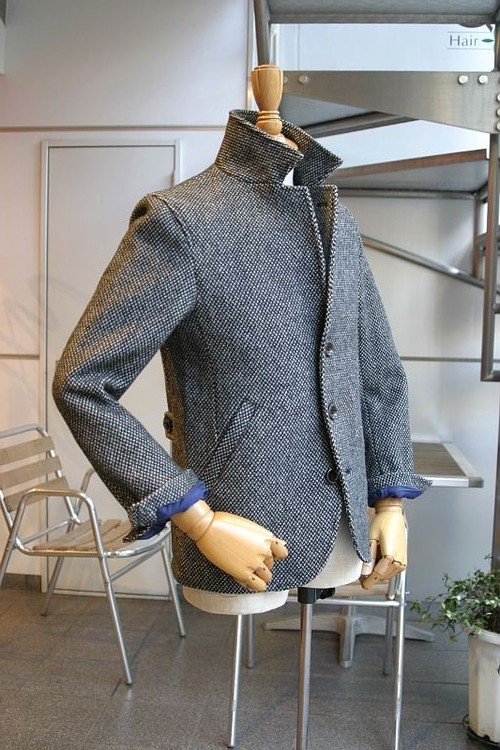 CARLO Wool Stand Jacket (#7896)