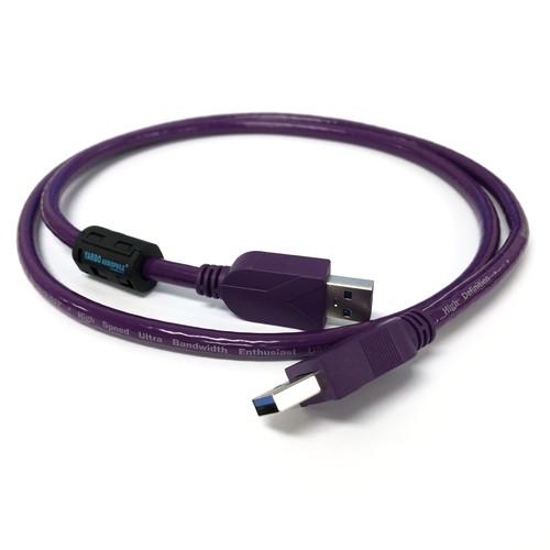 【アウトレット 数量限定】FP-USB3.0 銀メッキ銅線 USB3.0 A-Aタイプ 1m::YARBO