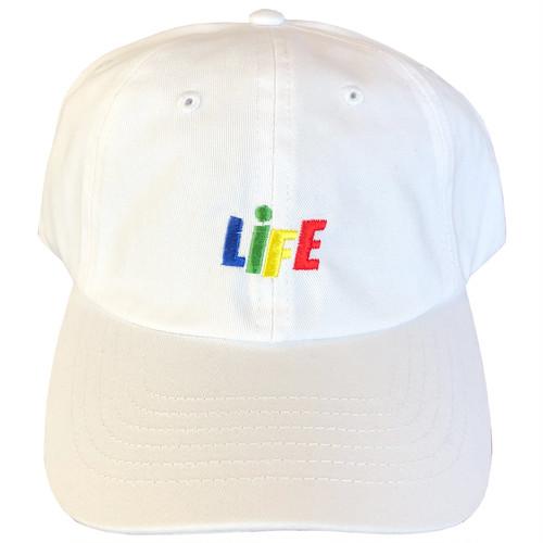 CANDY LOGO 6PANEL BALLCAP (WHITE) / LIFEdsgn