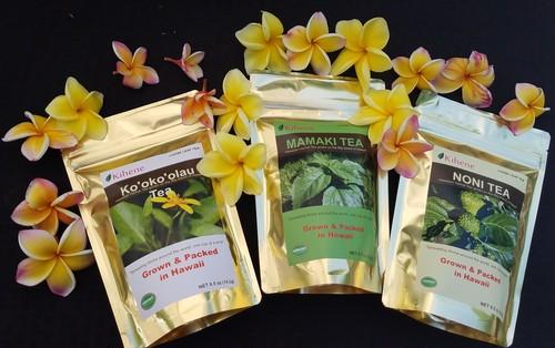 コオコオラウティー ハワイアンハーブティー コオコオラウ茶 100%ハワイ産 Hawaiian Herbal Tea Kookoolau Tea