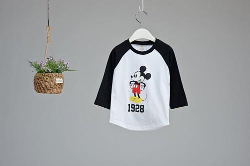 韓国子供服☆MラグランT