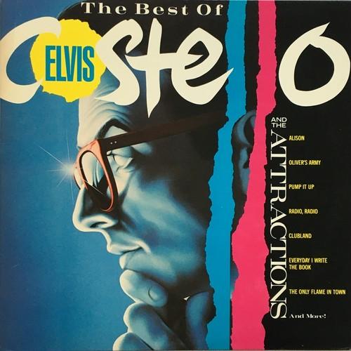 【LP・米盤】Elvis Costello & The Attractions / The Best of Elvis Costello And The Attractions