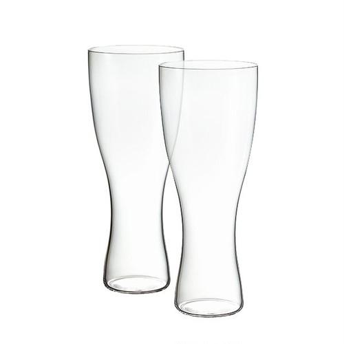 松徳硝子 うすはりグラス 鼓 ビールグラス(ピルスナー)木箱2Pセット