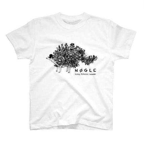 T-shirt【篠崎理一郎×NØGLE】(white)