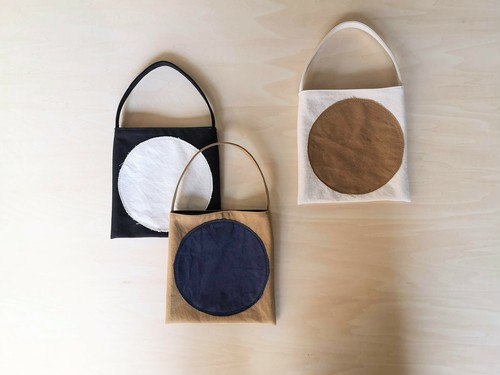 Flat bag mini -maru- / -shimashia-