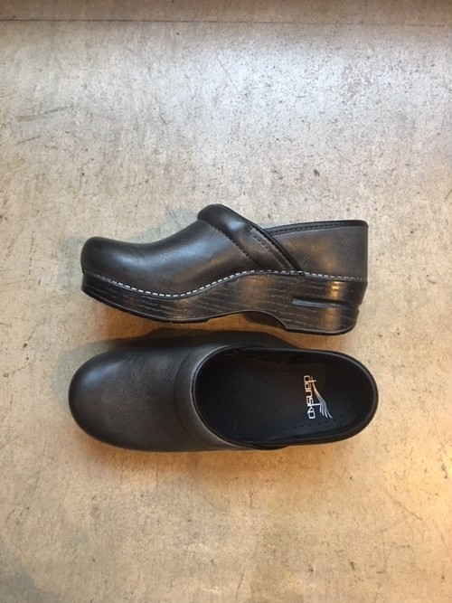 dansko Professional Charcoal Distressed