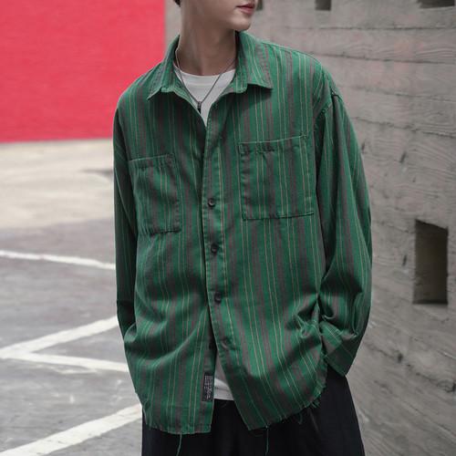 カジュアルフロントポケットシャツ BL4236