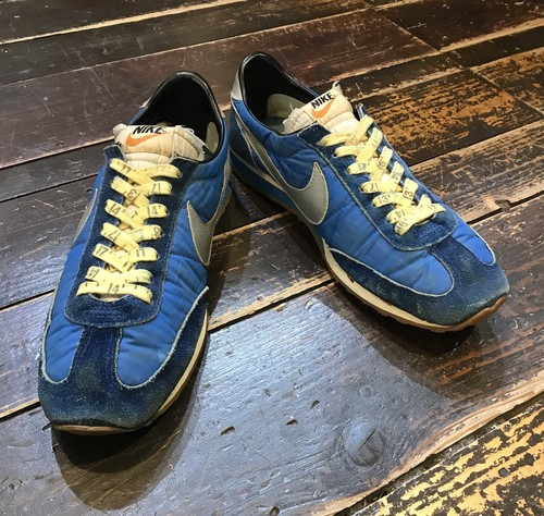 Vintage 70's NIKE ROAD RUNNER ブルー×シルバー 10 1/2 MADE IN KOREA