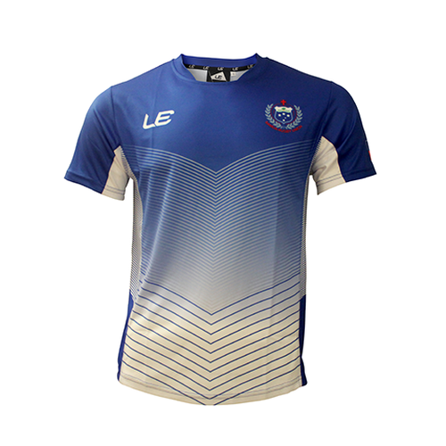 Samoa 2017 Training T-Shirt Bule