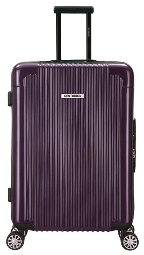 Lサイズ☆マイアミ紫MIA・90リットル:超軽量!旅ガールにオススメスーツケース