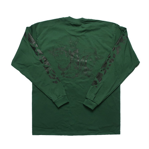 COOKIEBOY L/S TEE(GREEN)