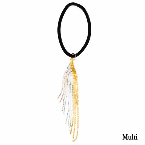 【MATSUNO GLASS BEADS】HAIR ACCESSORIES—Feather-HG41M