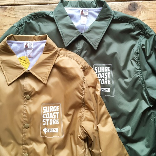 "Surge Coast Store ""Bicycle Coach Jacket"""