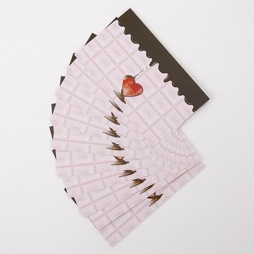 ストロベリーチョコメッセージカード