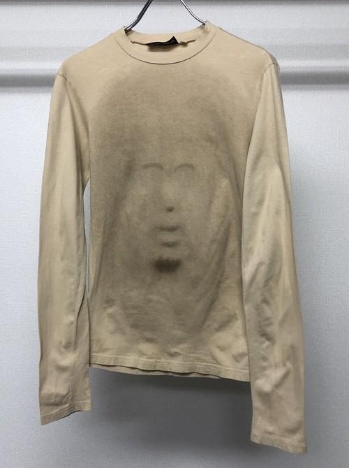 1990s DEXTER WONG FACE PRINTED T-SHIRT
