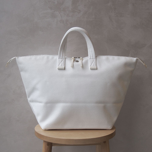 <30%OFF>CaBas N°32-Bowler bag medium Pure white