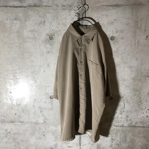 [used] beige like pajama shirt