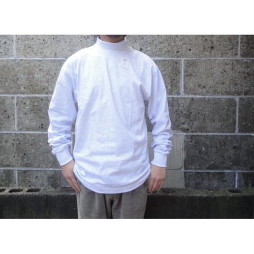 CAMBER (キャンバー) MOCK L/S FINEST 6oz グレー